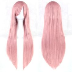 24 Colors 80CM Women Anime Cosplay Wigs Heat Resistant Straight Wigs Pink Yellow White Blonde Purple Black Blue Red Wigs -in Synthetic Wigs from Beauty & Health on Aliexpress.com   Alibaba Group