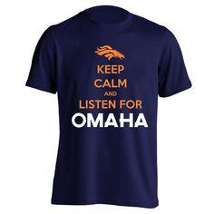 Peyton Manning t-shirt.