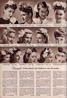 '40's flower inspiration.