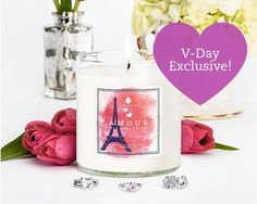 Trio Amour Candle for $49.99 at JewelScent.com This limited edition candle comes with 3 hidden rings!