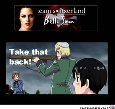 TAKE IT BACK! not even Switzerland wants her...