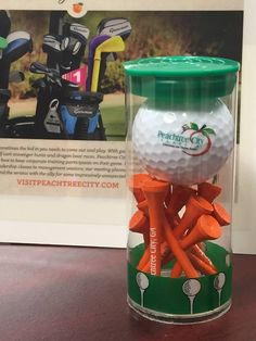 Peachtree City, Ga. | New Item available in the Visitor Center. Makes a great gift for your favorite golfer!! For sale at the Peachtree City Visitors Center. $9