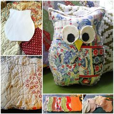 Cute and Cuddly Owl Pillows 1 - https://www.facebook.com/different.solutions.page