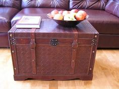 Georgetown Faux Leather Chest Wooden Steamer Trunk - Large Trunk by Styled Shopping, http://www.amazon.com/dp/B004YUBUTM/ref=cm_sw_r_pi_dp_l4MTqb0T490D0