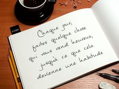 "Quotes about Happiness : Citation du Jour / Daily Quote ""Chaque jour, faites quelque chose qui vous rend . Zig Ziglar, Wall Quotes, Words Quotes, Karma, Happy Quotes, Life Quotes, Peace Quotes, Happiness Quotes, Quote Citation"