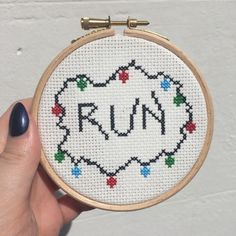 Stranger Things Cross Stitch by DinglehopperCrafts on Etsy https://www.etsy.com/uk/listing/502544209/stranger-things-cross-stitch