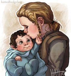 "hattedhedgehog: "" Take care of him, Fíli. "" So sweet!"