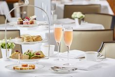 Champagne Afternoon Tea at Betty's Harrogate