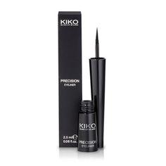 KIKO MAKE UP MILANO: Precision Eyeliner – Flüssiger Eyeliner mit Filz-Applikator