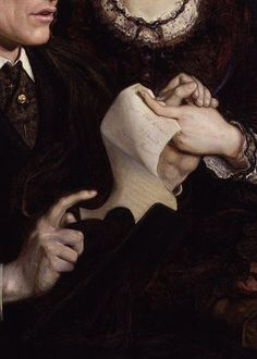 Henry Fawcett, Dame Millicent Garrett Fawcett by Ford Madox Brown, 1872 (detail)