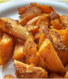 Pan Fried Sweet Potatoes Ingredients Pan-fried Sweet Potatoes Recipe sweet potatoes canola oil Mrs. Dash (table blend) Kosher salt brown sugar cayenne peppe