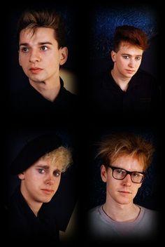 Depeche Mode , Dave Gahan, Martin Gore, Andy Fletcher, Alan Wilder