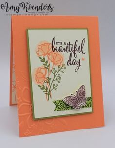 Stampin' Up! Love What You Do Sneak Peek CAS Card – Stamp With Amy K