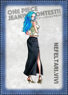 Nefertari Vivi - One Piece Jeanist Contest