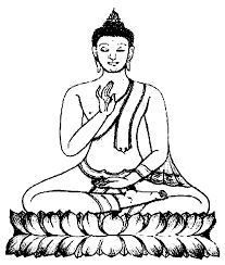 Image result for dessin bouddha