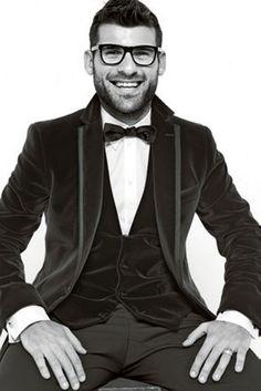 Antonio Nocerino, midfielder for AC Milan, in Dolce & Gabbana