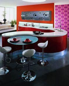 Cuisine moderne et design avec beaucoup de style ♥