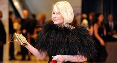 Joan Rivers made quite an entrance at last year's White House Correspondents' Dinner. Decked out in feathers, she sailed along the red carpet and unapologetically dropped the F-bomb in an interview.