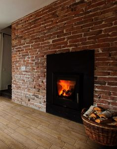 Traditional Peppered Ash Wood Effect Ceramic Wall / Floor Tiles Per Sqm Wooden Flooring, Kitchen Flooring, Wood Effect Tiles, Wall And Floor Tiles, Wall Tiles, Feature Tiles, Wood Burner, Empty Room, Floor Space