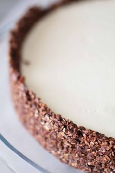 Torta Fredda al Burro di Arachidi | Dolce Senza Zucchero