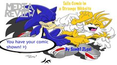Sonic12Lexi's Media Review Ep 3 - Tails Comic in a Strange Website - YouTube
