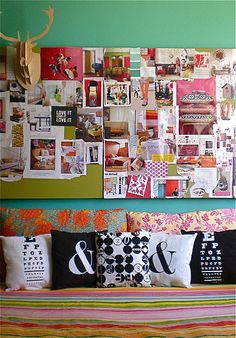 colours mood board