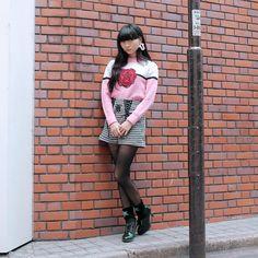 ASAMI (アサミ), student (学生) | 5 December 2014 | #Fashion #Harajuku (原宿) #Shibuya (渋谷) #Tokyo (東京) #Japan (日本) || DROPTOKYO ( ドロップトーキョー ) || Drop Snap ! (ドロップスナップ!)