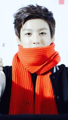 Bts bangtan boys baby jungkook♥ dont wear orange okie bby