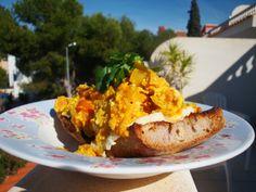 Berber Eggs on Toast