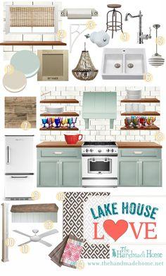 lake house love - the handmade home