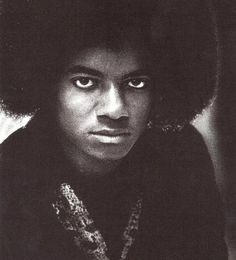Michael Jackson. He was such a beautiful young man before he became so outwardly twisted. I suppose he was twisted inside for a long time before the transformation started. *sighs*