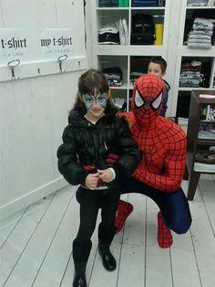 Animazione Bambini con Mascotte Spiderman.  www.multiservizinnovativi.com