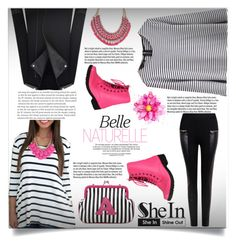 """""""Shein 9 (V)"""" by aida-banjic ❤ liked on Polyvore featuring Qupid, Garance Doré, Melie Bianco and shein"""