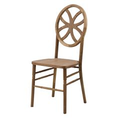 Commercial Seating Products Veronique Clover Stackable Dining Chair - W-440-VR-CLOVER-TR