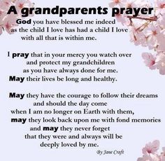 They are so loved, my son, my daughter and their children. May they have peace, abundance, gratitude and harmony in their lives also, as they have brought so much happiness to me.