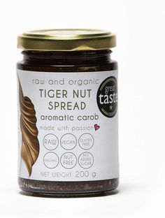 Drobtinka Tigernut Spread, Aromatic Carob, 200g, Raw and Organic: Amazon.co.uk: Grocery Gift Card Mall, Bottle Manufacturers, Sunflower Lecithin, Organic Brand, Lactose Free, Nut Free, Organic Recipes, Smoothies, Smoothie