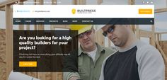 Here are some of the best construction company WordPress themes 2017 for building, contractor, architect or business related websites. Service Projects, Home Quotes And Sayings, Wordpress Theme, Construction, Let It Be, Day, Building, Buildings