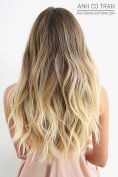 Mèches et ombre Hair Blond :Le top 10 Meilleurs Modèles | Coiffure simple et facile