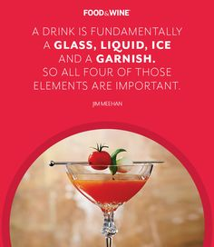 Click to find F&W's ultimate cocktail guide.