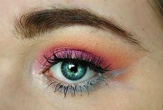 makeup coucher de soleil