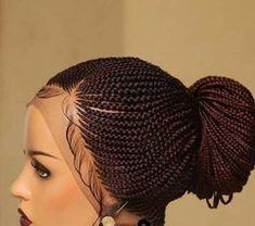 # goddess Braids for kids Custom made ,Full lace Braided wigs ,pointy tail ,braided wigs , Neatly Tail Braids, Braids With Curls, Braids Wig, Braids For Black Hair, Box Braids, Ghana Braids, African Braids Hairstyles, Braided Hairstyles, School Hairstyles