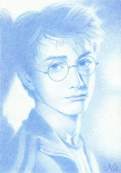 2004 Harry Potter. color pencil by Naoko Aoyama