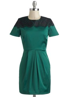My Tsavorite Things Dress, #ModCloth  perhaps a New Years #partydress ?