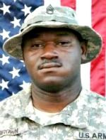 Army SSG. Harrison Brown, 31, of Prichard, Alabama. Died April 8, 2007, serving during Operation Iraqi Freedom. Assigned to 2nd Battalion, 69th Armor Regiment, 3rd Brigade Combat Team, 3rd Infantry Division, Fort Benning, Georgia. Died of injuries sustained when his unit was attacked by enemy forces using an improvised explosive device and small-arms fire in Baghdad, Iraq.