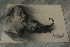 Pencil Drawing by Kenn Skogli  #kennskogli  @kennskogli  Steve-O
