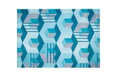Roche Bobois | HAXAGONE outdoor rug | Designed by Eric Gizard | European manufacture