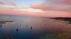 A beautiful night in Geelong  by @kourtenay #geelong #destinationgeelong #geelongwaterfront #lovegeelong #giantskywheel #ferriswheel #sunset #clouds #sky #visitvictoria #australia by destinationgeelong http://ift.tt/1JtS0vo