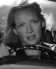 Uma Thurman as Beatrix Kiddo alias Black Mamba in Kill Bill