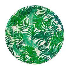 Papieren bordjes | botanical | 12 stuks