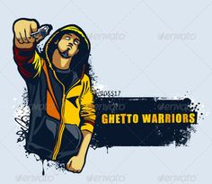 Young gangster with gun  #GraphicRiver         Young gangster with gun. Grungy street art slyled vector illustration. ALL TEXT IS NOT EDITABLE ! ITS JUST FOR PREVEW !     Created: 21August12 GraphicsFilesIncluded: VectorEPS Layered: Yes MinimumAdobeCSVersion: CS Tags: art #background #banner #bright #color #crime #dirty #dude #gangster #ghetto #graffiti #grunge #gun #hip-hop #hoody #kill #man #men #modern #murderer #one #paint #people #silhouette #splash #spray #stencil #street #vector #wall